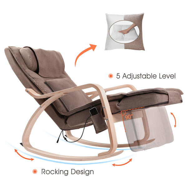OWAYS Shiatsu Human Touch Massage Chair Body Massage Recliner for Sale