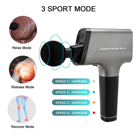 Massage Gun Muscle Massager for Pain Relief & Recovery