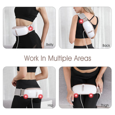 OWAYS  Heated Vibration Massage Slimming Belt for Weight Loss