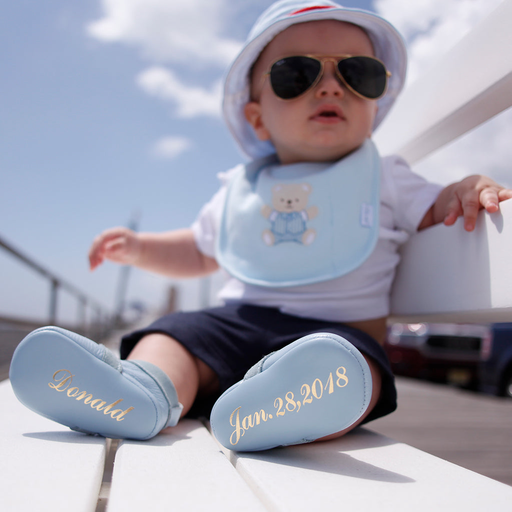 Personalized baby shoes - newborn gifts