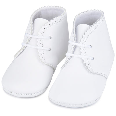 Classic NameDate Lace-Ups (best seller)-White