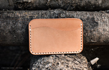 No.3   Natural Oak - North Idaho Leather