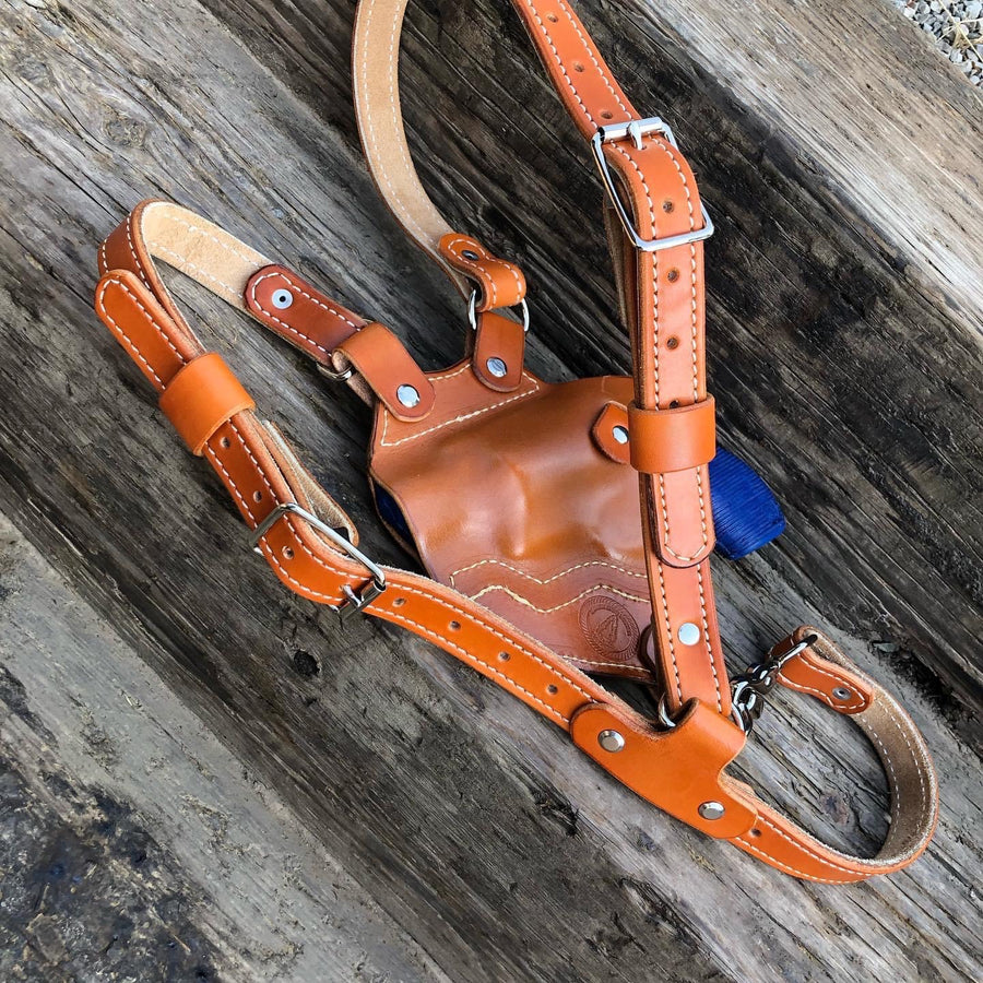 Sportsman Chest Holster - North Idaho Leather