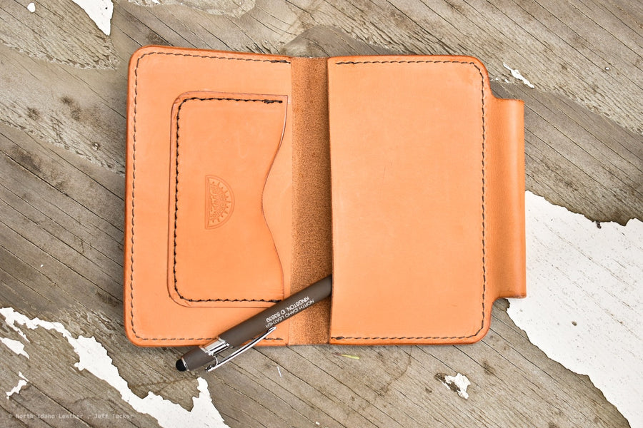 No.57 Field Notes Cover Russet - North Idaho Leather