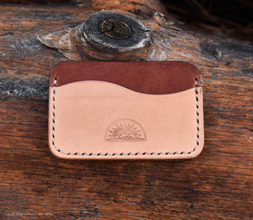 No.3 Buck Brown and Natural - North Idaho Leather