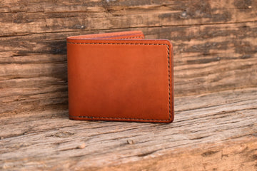 Cedar Wallet - Wickett and Craig English Bridle - North Idaho Leather
