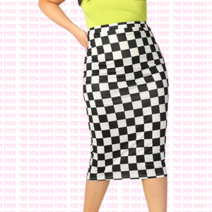 Rev Head Pencil Skirt