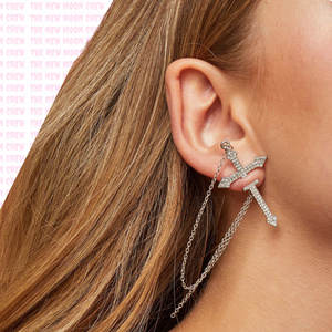 Dagger to the Heart Single Earring
