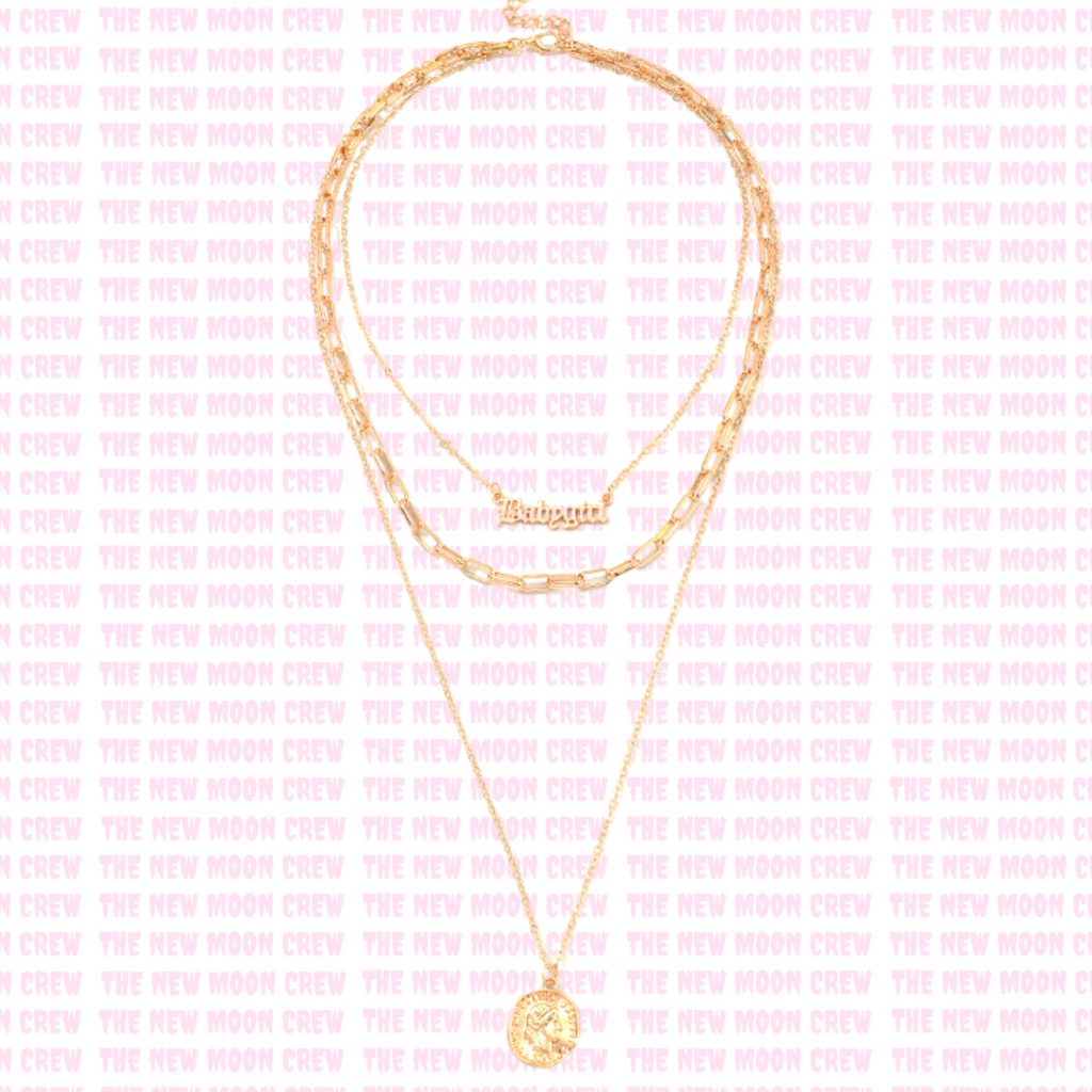Golden Child Necklace