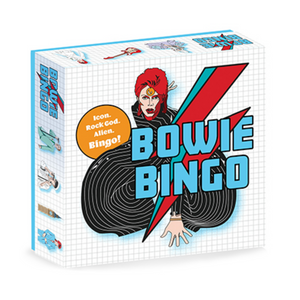 Bowie Bingo - Icon. Rock God. Alien. Bingo!