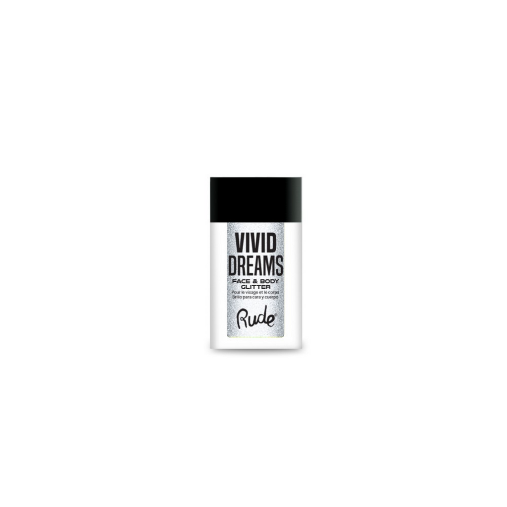 RUDE ✨ Vivid Dreams Face & Body Glitter - Parallel Universe