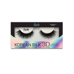 RUDE ✨ Korean Silk 3D Lashes - Melodramatic