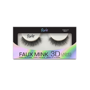 RUDE ✨ Faux Mink 3D Lashes - Accentuate