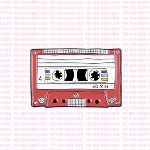 60 Minute Mixtape Pin