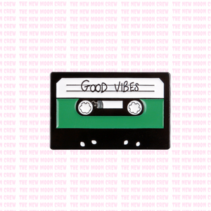 Good Vibes Mixtape Pin