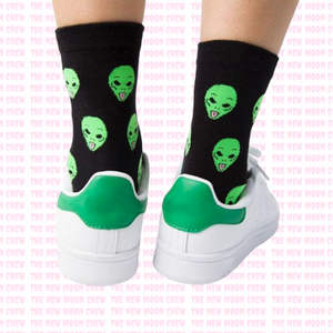 Alien Dude Socks