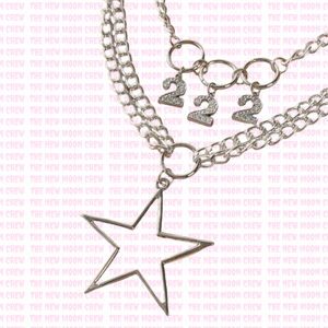 222 Twinning Necklace