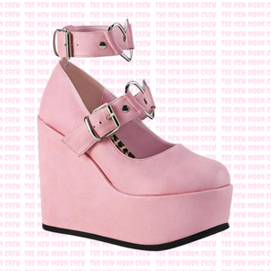 Poison - Baby Pink Wedge