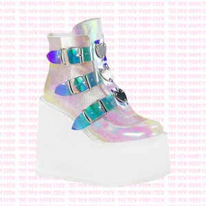 Swing - Pearl Iridescent Ankle Boot