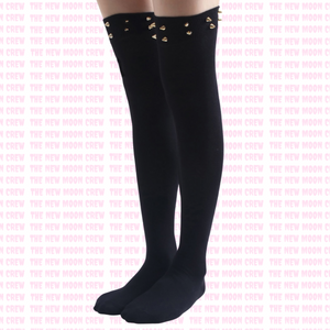 Riveting Knee High Socks