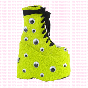 Slay - Lime Green Ankle Boot