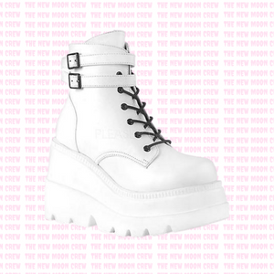 Shaker - White Ankle Boot