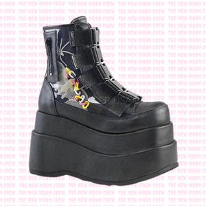 Bear - Clear PVC Ankle Boot