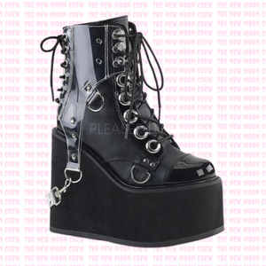 Swing - Clear PVC Ankle Boot