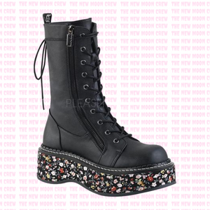 Emily - Floral Mid Boot