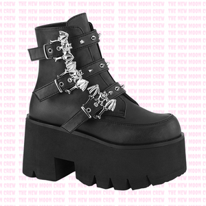 Ashes - Black Ankle Boot