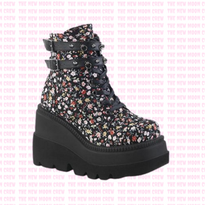 Shaker - Floral Fabric Ankle Boot