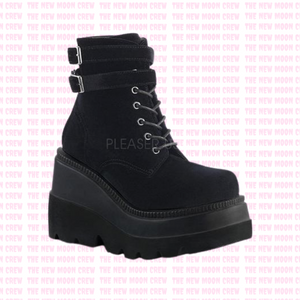 Shaker - Black Velvet Ankle Boot