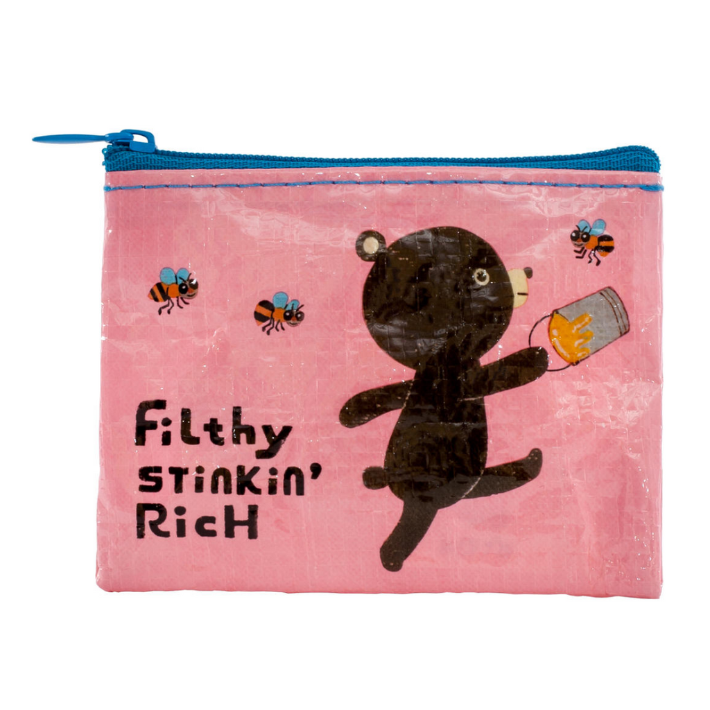 Beary Rich Coin Pouch