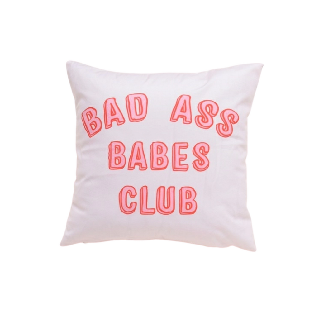 Babes Club Cushion Cover