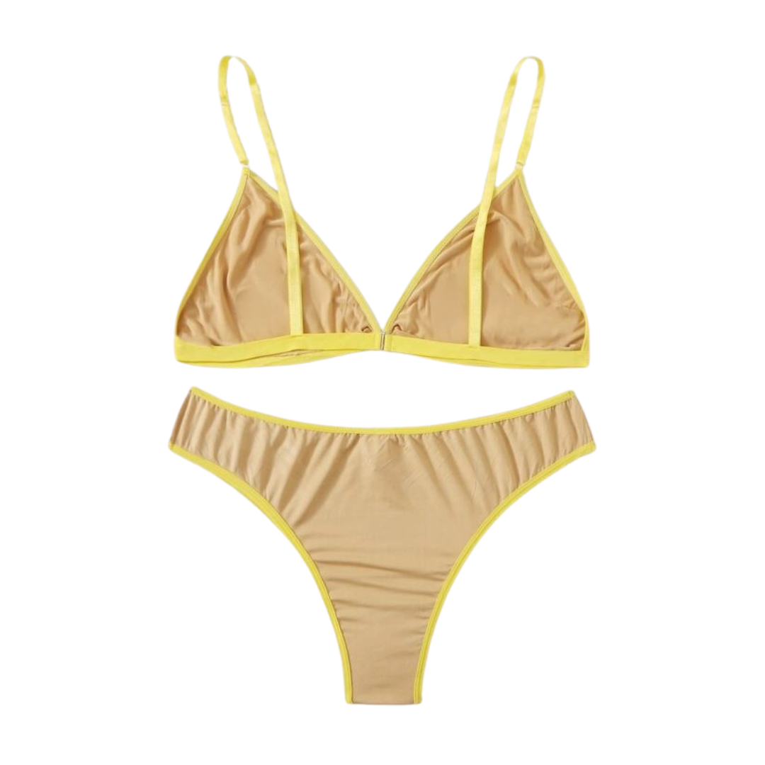 Bananas 4 U Bralette & Undies Set