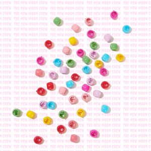 Bubble Hair Beads - 50 Pack