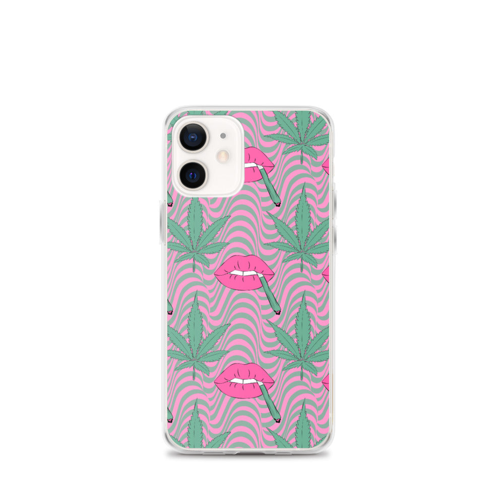 Blunt Lips iPhone Case