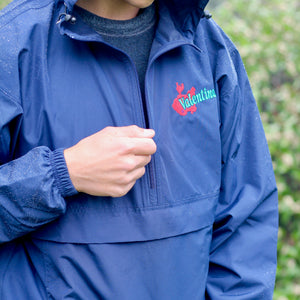 Logo Embroidered Windbreaker
