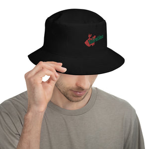 Logo Embroidered Bucket Hat