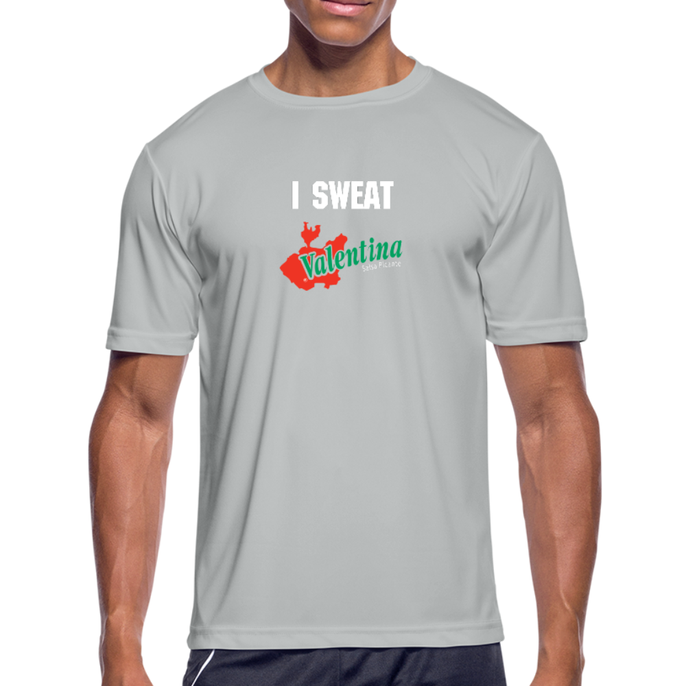 I Sweat Valentina - Moisture Wicking Performance T-Shirt - silver