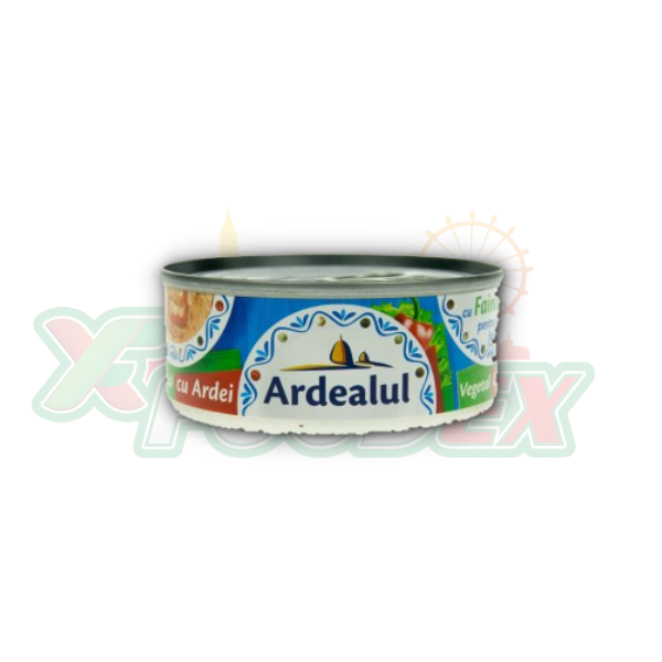 ARDEALUL VEGETABLE SPREAD WITH PEPPERS 100GR 6/BOX