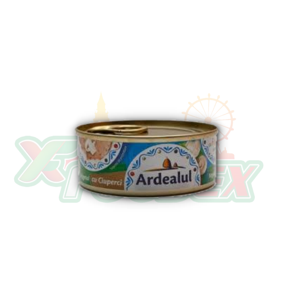 ARDEALUL VEGETABLE SPREAD WITH MUSHROOMS 100GR 6/BOX
