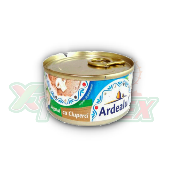 ARDEALUL VEGETABLE SPREAD WITH MUSHROOMS 200GR 6/BOX