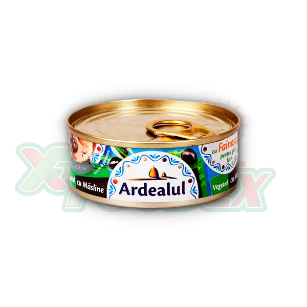 ARDEALUL VEGETABLE SPREAD WITH OLIVES 100GR 6/BOX