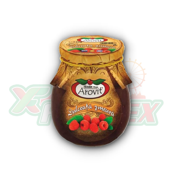 AROVIT RASPBERRY JAM 340GR 6/BOX