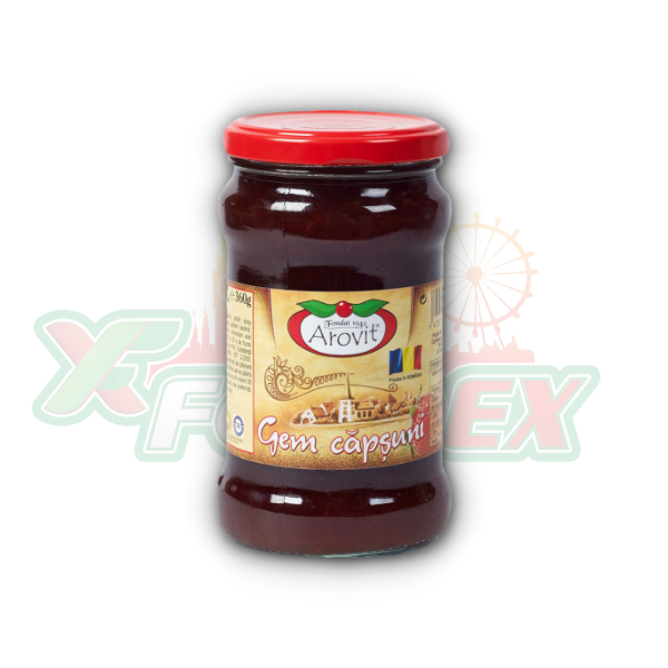 AROVIT STRAWBERRY JAM 360GR 6/BOX