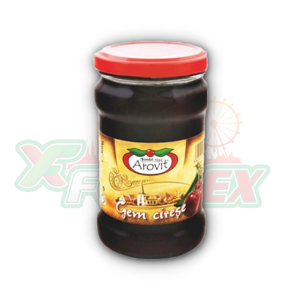 AROVIT CHERRY JAM 360GR 6/BOX