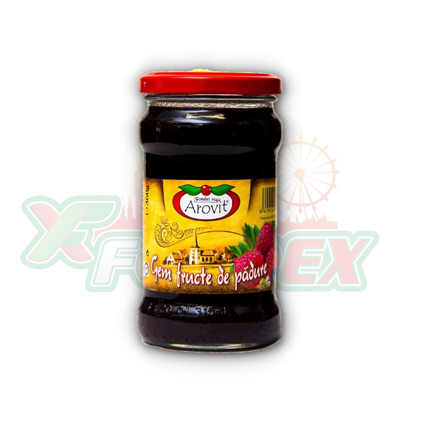 AROVIT FOREST FRUIT JAM 360GR 6/BOX