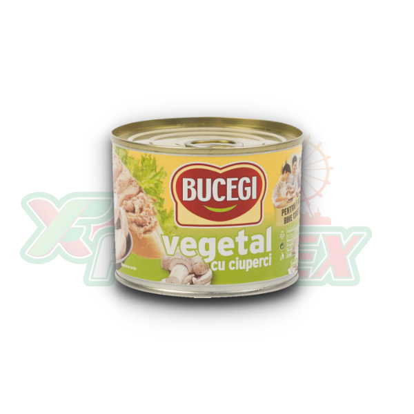 BUCEGI VEGETABLE SPREAD WITH MUSHROOMS 200GR 48/BOX