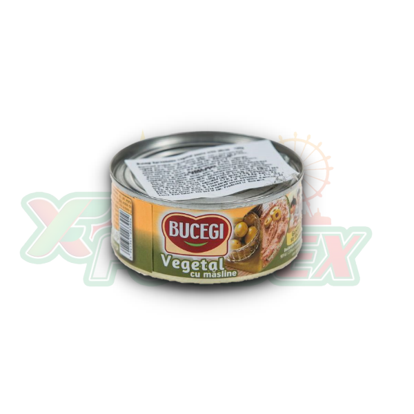 BUCEGI VEGETABLE SPREAD WITH OLIVES 120GR 60/BOX